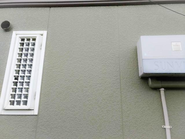 佐賀県唐津市のM様邸にて、蓄電システムを設置しました≪壁面≫