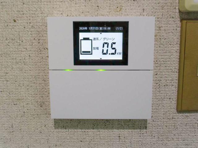 佐賀県唐津市のM様邸にて、蓄電システムを設置しました≪リモートコントローラ≫