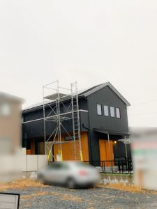 愛知県海部郡のH様邸にて、太陽光発電システムを設置しました≪お家≫