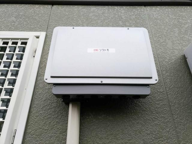 佐賀県唐津市のM様邸にて、蓄電システムを設置しました≪パワコン≫