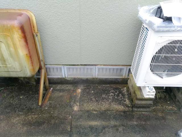 佐賀県唐津市のM様邸にて、蓄電システムを設置しました≪設置前≫