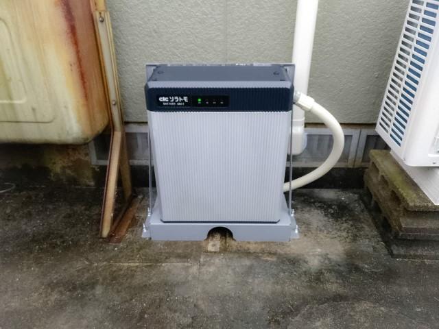 佐賀県唐津市のM様邸にて、蓄電システムを設置しました≪設置後≫