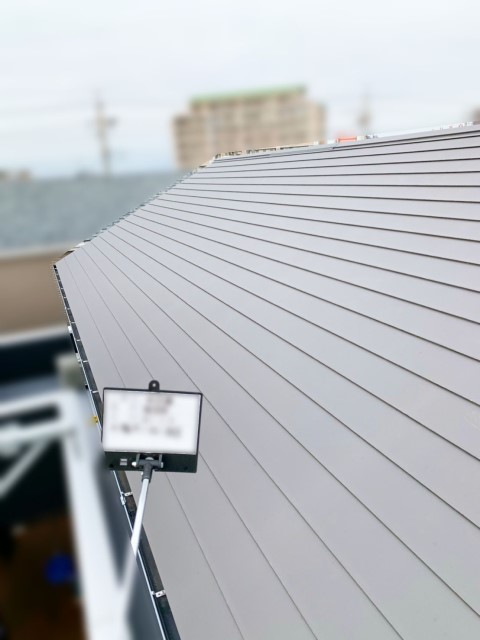 愛知県海部郡のH様邸にて、太陽光発電システムを設置しました≪施工前≫