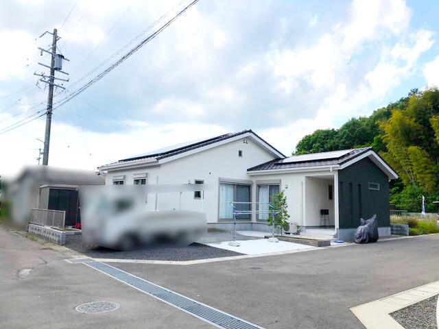 岐阜県美濃市K様邸にて、太陽光発電システムを設置しました!