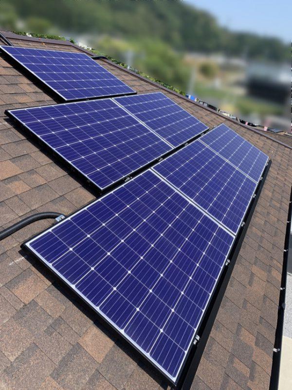 宮崎県宮崎市Y様邸にて、太陽光発電システムを設置しました!《施工後》