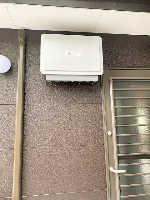 宮崎県宮崎市のT様邸にて、蓄電システムを設置しました≪パワーコンディショナ≫