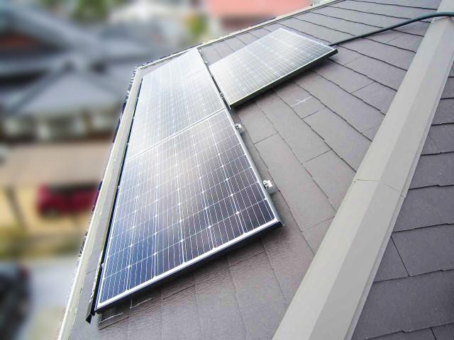 山口県下関市のS様邸にて、太陽光発電システムを設置しました≪パネル≫