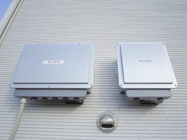 山口県下関市のS様邸にて、太陽光発電システムを設置しました≪パワコン≫