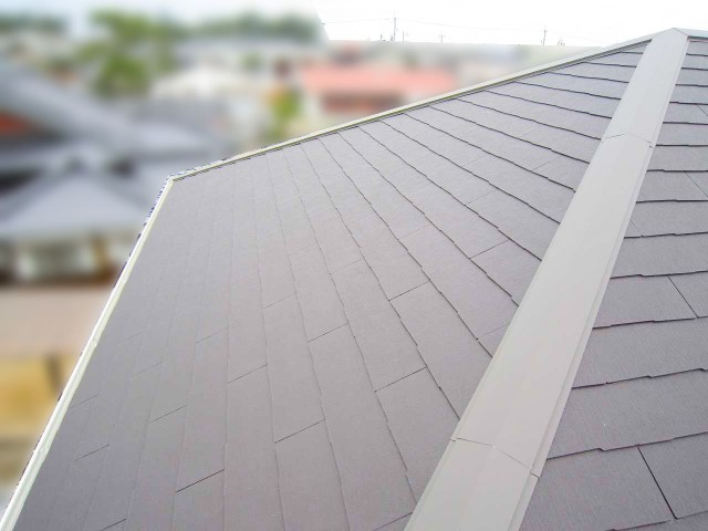 山口県下関市のS様邸にて、太陽光発電システムを設置しました≪屋根≫