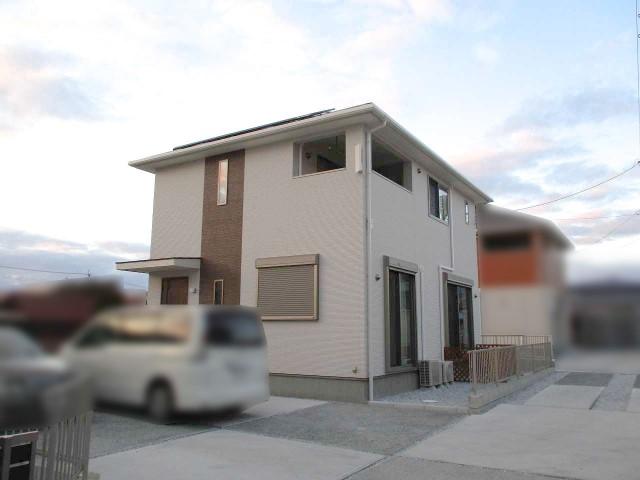 山口県下関市のS様邸にて、太陽光発電システムを設置しました≪お家≫