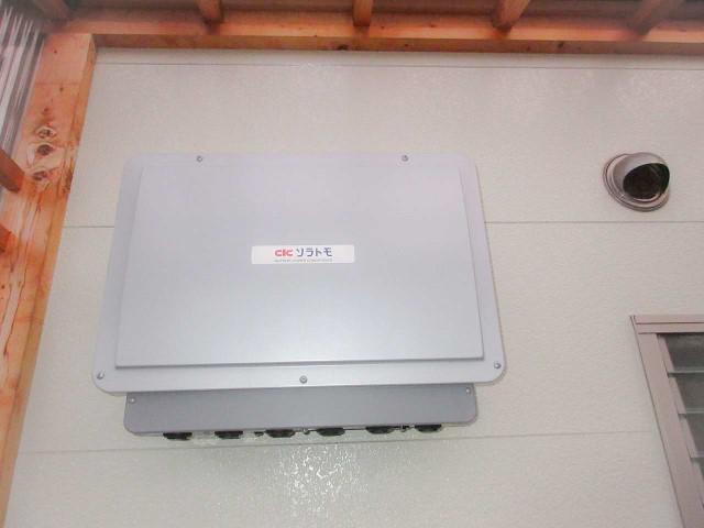 山口県下関市のI様邸にて、蓄電システムを設置しました≪パワコン≫