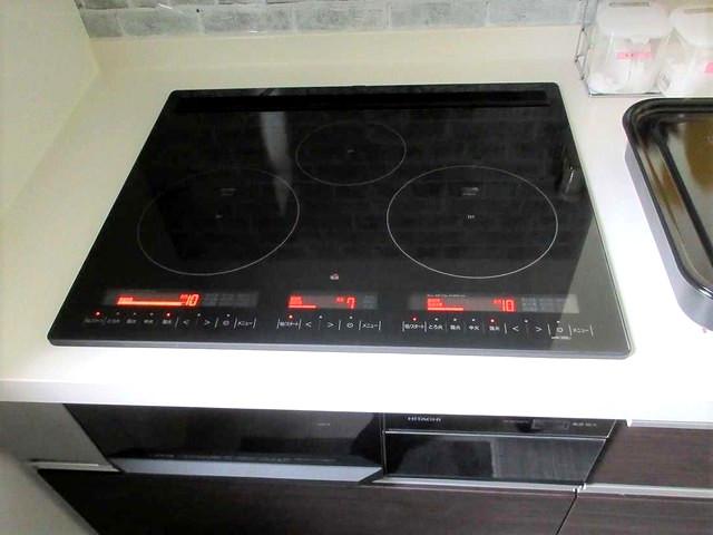 福岡県遠賀郡S様邸にて、オール電化システムを設置しました!《IHクッキングヒーター》