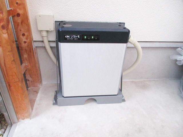 山口県下関市のI様邸にて、蓄電システムを設置しました≪本体≫