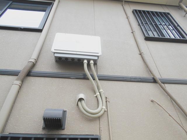 佐賀県佐賀市のM様邸にて、蓄電システムの設置をしました≪パワコン≫