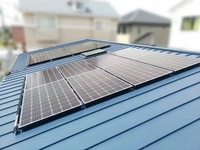 福岡県福岡市のA様邸にて太陽光発電システムを設置しました≪施工後≫