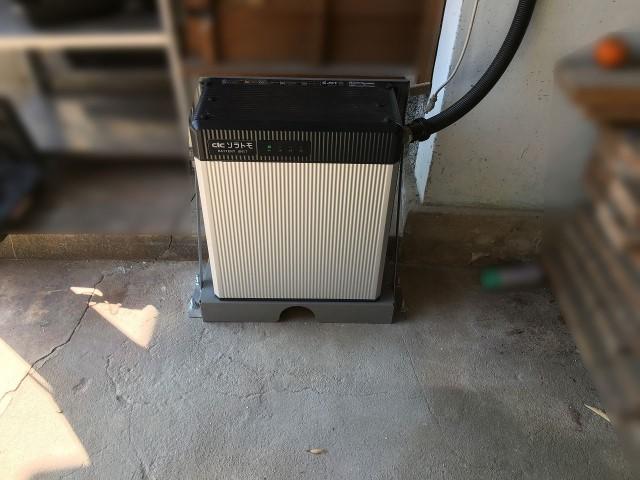佐賀県唐津市のS様邸にて蓄電システムを設置しました≪本体≫