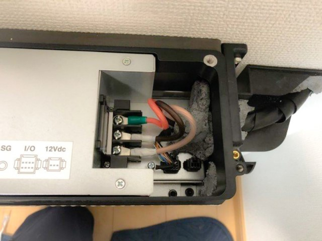 山口県下関市のM様邸にて、蓄電システムを設置しました≪上部≫