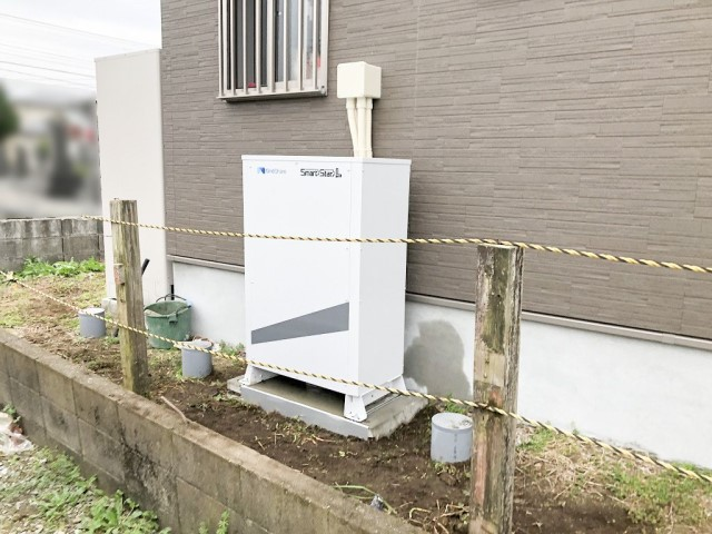宮崎県宮崎市のK様邸にて、蓄電池システムを設置しました≪本体≫