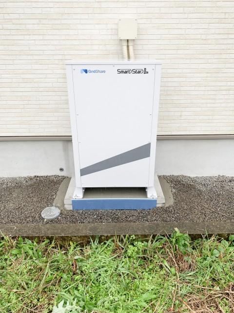 宮﨑県小林市のO様邸にて、蓄電池システムの設置をしました≪本体≫