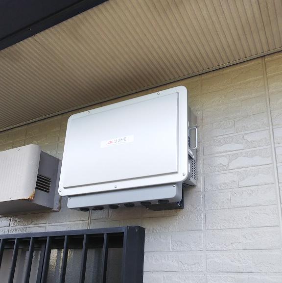 宮﨑県宮崎市のS様邸にて、蓄電池システムを設置しました≪パワコン≫