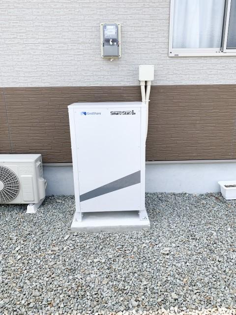 宮﨑県宮崎市のM様邸にて、蓄電池システムの設置をしました≪本体≫