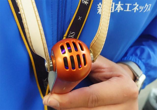 携帯用の空気清浄機