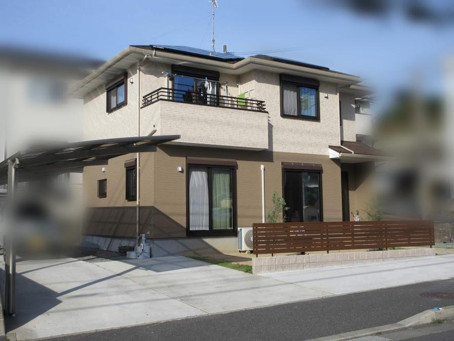 福岡県遠賀郡のT様邸にて、蓄電池システムを設置しました。