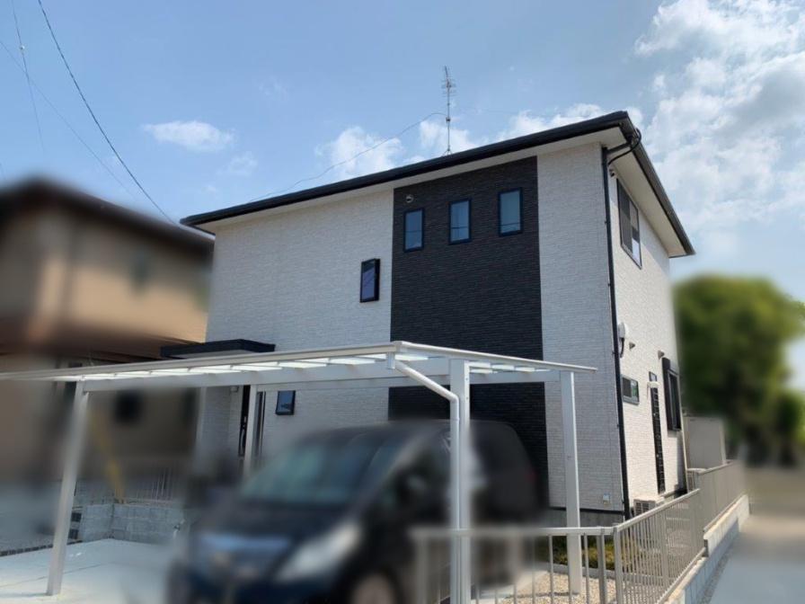 福岡県筑後市のK様邸にて、太陽光発電システムを設置しました。