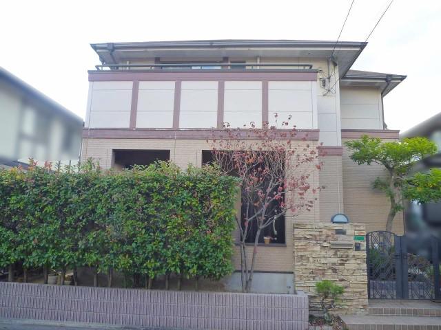 福岡県北九州市のS様邸にて、エコキュートを設置しました≪お家≫