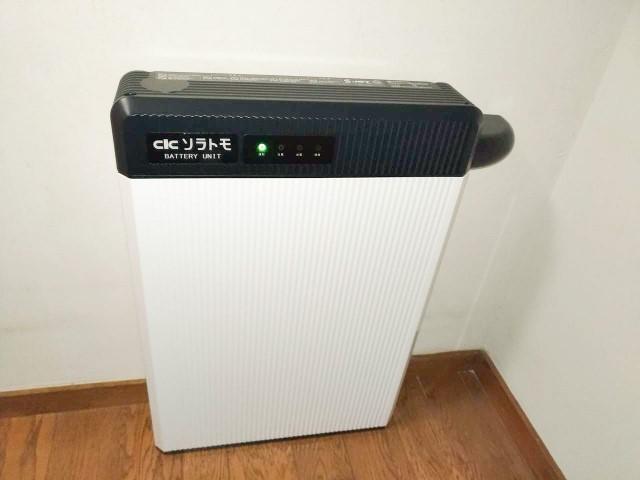 E様邸にて、蓄電システムを設置しました≪蓄電池ユニット≫