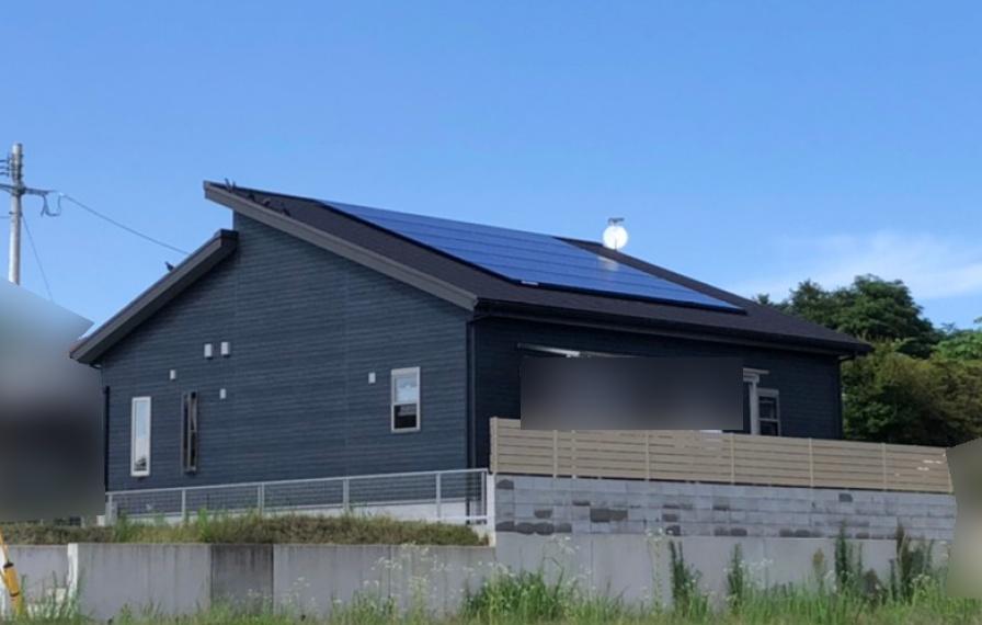 鹿児島県のM様邸にて、太陽光発電システムを設置させて頂きました!