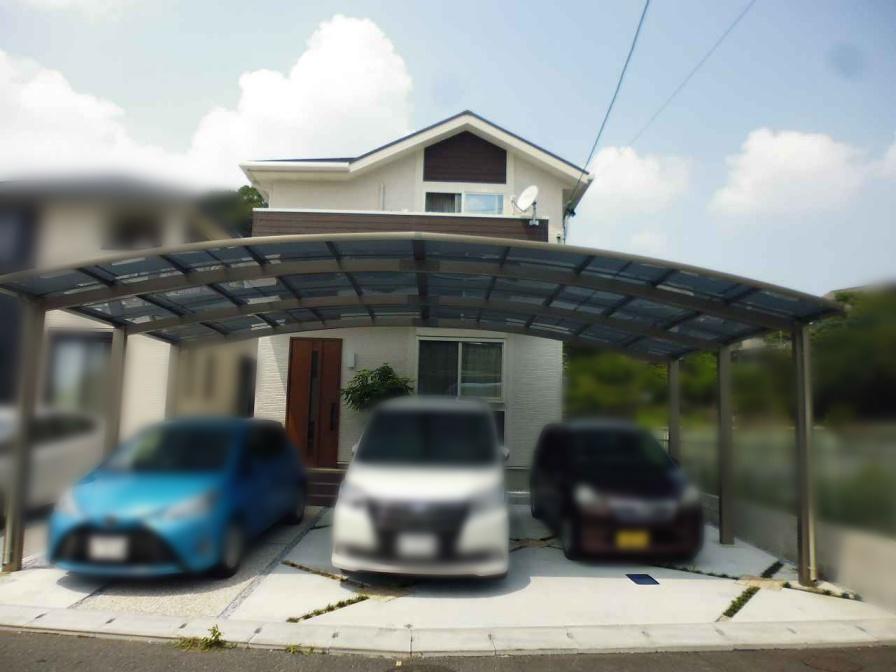 福岡県北九州市のU様邸にて、太陽光発電システムを設置しました!