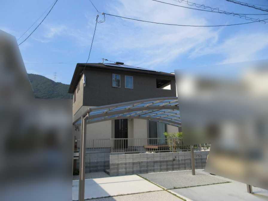 福岡県北九州市のK様邸にて、太陽光発電システムを設置させて頂きました!