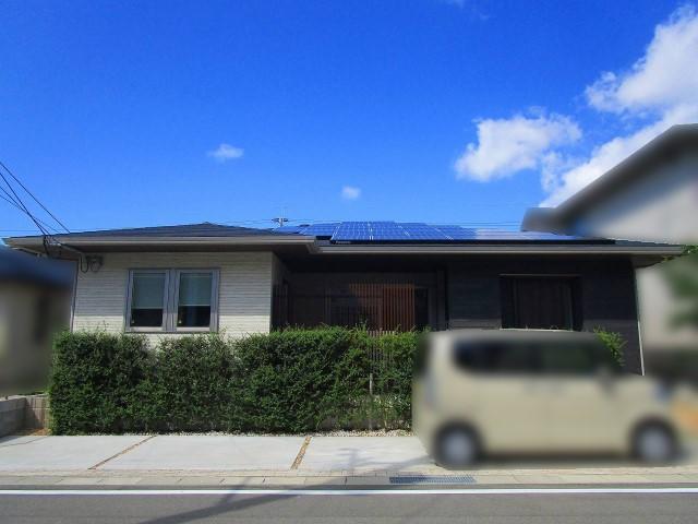 福岡県のK様邸にて、太陽光発電システムを設置しました≪お家≫