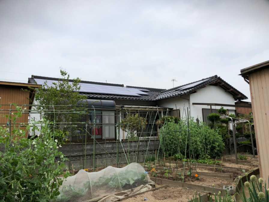 福岡県田川市のT様邸にて、太陽光発電システムを設置しました!