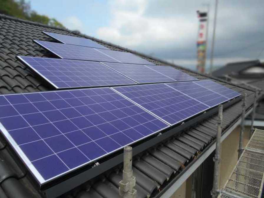 福岡県飯塚市のU様邸にて、太陽光発電システムを設置しました!