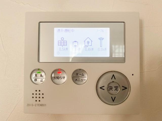 岡山県岡山市のT様邸にて、蓄電システムを設置しました≪リモコン≫