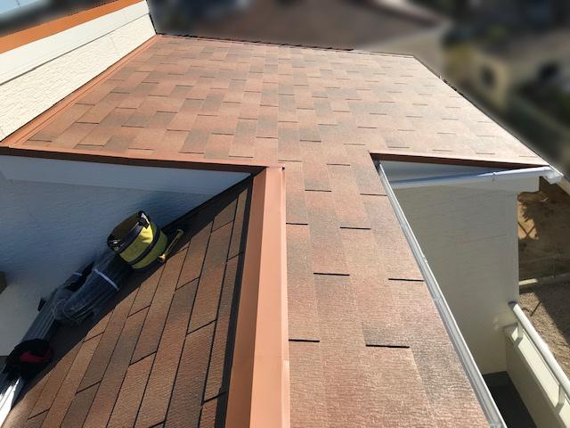 三重県四日市市のU様邸にて、太陽光発電システムを設置しました≪施工前≫