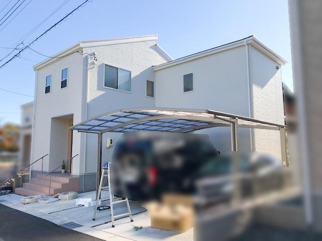 三重県四日市市のU様邸にて、太陽光発電システムを設置しました≪お家≫