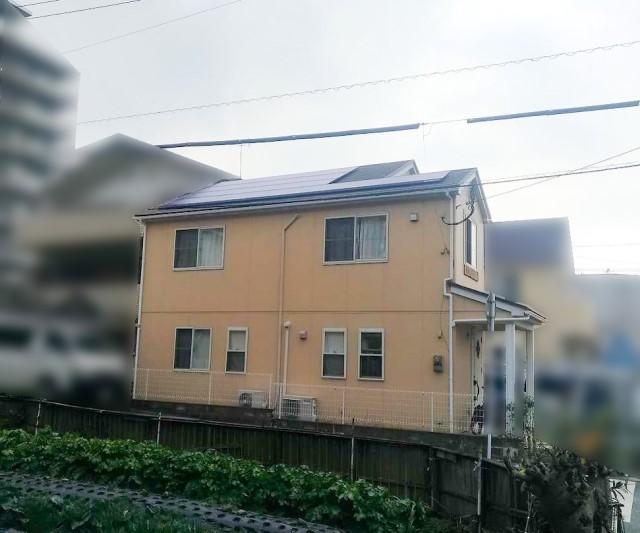 福岡県のA様邸にて、太陽光発電システムを設置しました≪お家≫