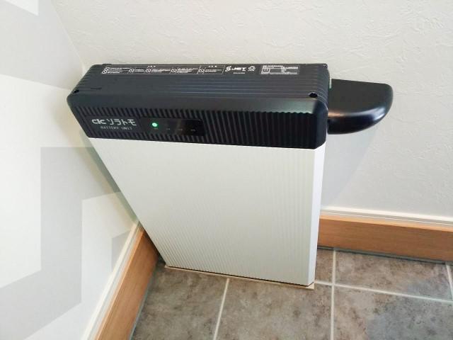 佐賀県のG様邸にて、蓄電システムを設置しました≪施工後≫
