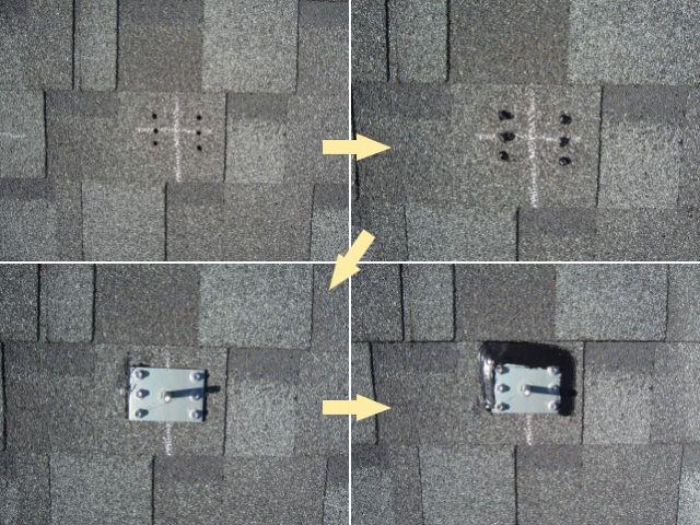 佐賀県のG様邸にて、太陽光発電システムの設置をしました≪施工中≫