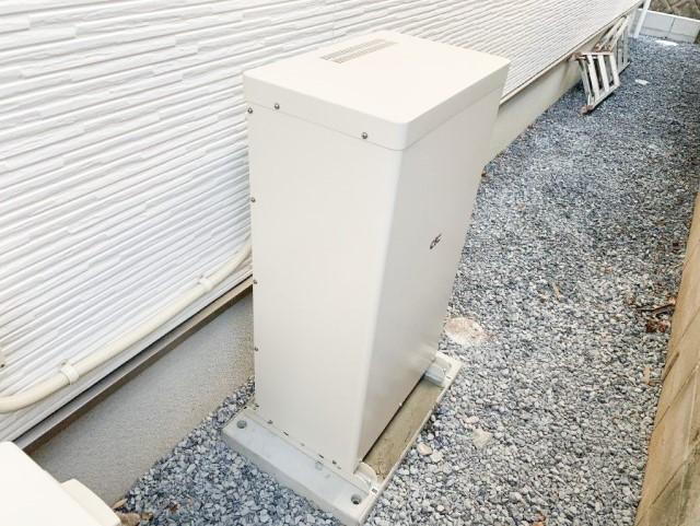 福岡県のS様邸にて、蓄電システムを設置しました≪蓄電池≫