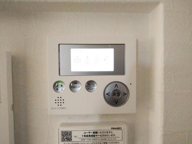 鹿児島県のM様邸にて、蓄電システムを設置しました≪表示ユニット≫