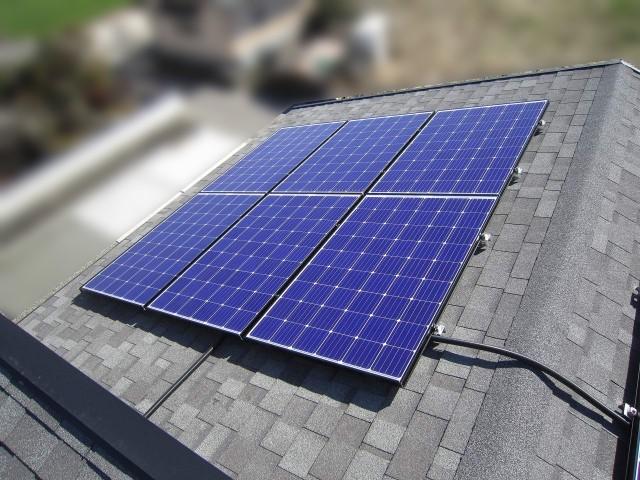 佐賀県のG様邸にて、太陽光発電システムの設置をしました≪施工後≫