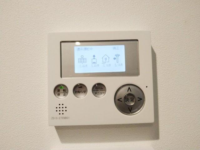 鹿児島県のN様邸にて、蓄電システムを設置しました≪表示ユニット≫