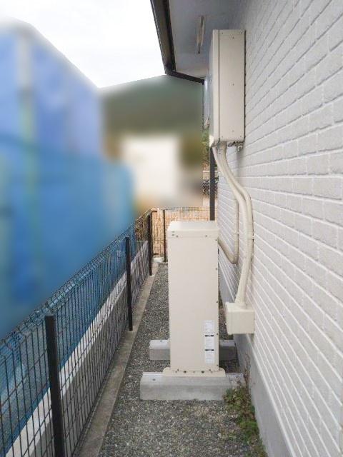 鹿児島県のN様邸にて、蓄電システムを設置しました≪屋外機器≫