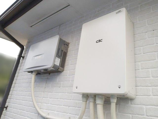 鹿児島県のN様邸にて、蓄電システムを設置しました≪パワコン≫