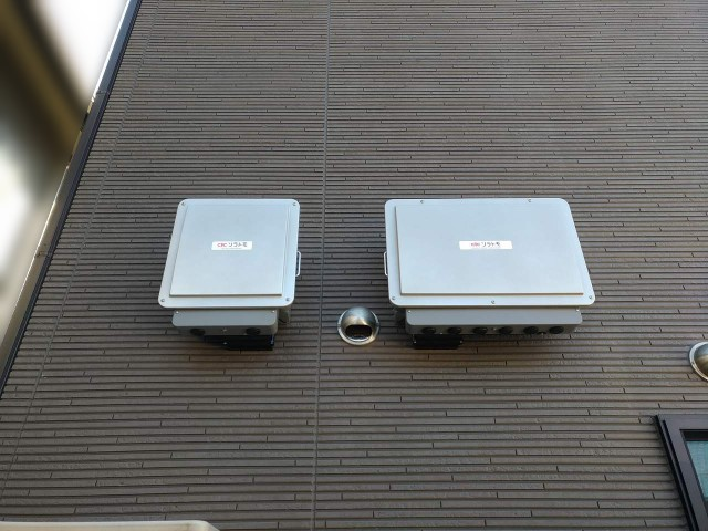 佐賀県のG様邸にて、太陽光発電システムの設置をしました≪屋外機器≫
