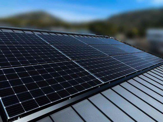 福岡県のY様邸にて、太陽光発電システムを設置しました!